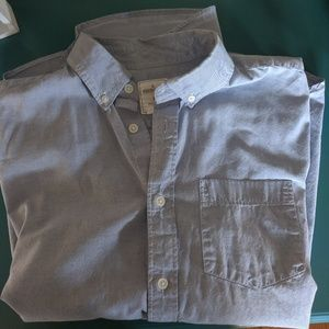GAP Men's short sleeve button down Size Medium